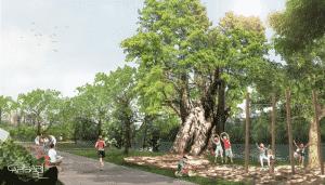 CAMINHO LADO BAOBA menor commarca 768x439 300x171 - Parque Capibaribe inicia com atividades