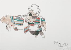 DAV 2586 Chico 300x212 - Jackson Santana retrata personalidades nordestinas em mostra