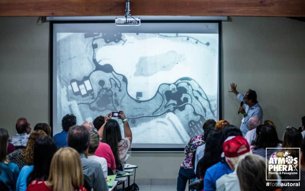 Luiz Vieira apresenta projetos Seminario Pernambuco Paisagismo divulgação 1024x640 - Atmosphera realiza Seminário sobre jardins do futuro