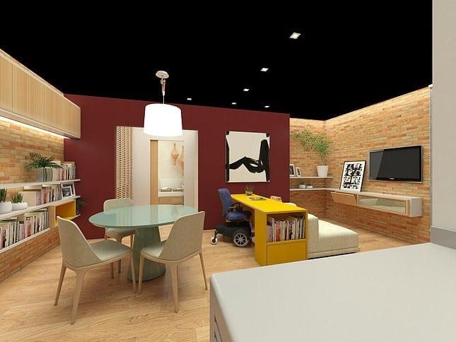 Sala 02 CASA MOVA Crédito Divulgação - Casa Mova: ambientes e soluções para necessidades específicas