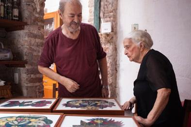 conchita brennand raul cordula foto lucas oliveira - A arte onírica de Conchita Brennand