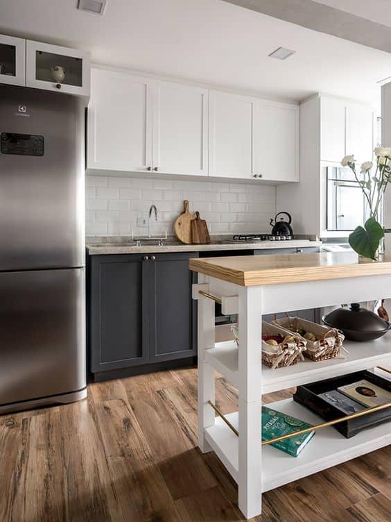 Pisos Madeira Cozinha - Decoração de Pisos para Cozinha: 10 Tipos de Pisos para Transformar sua Cozinha