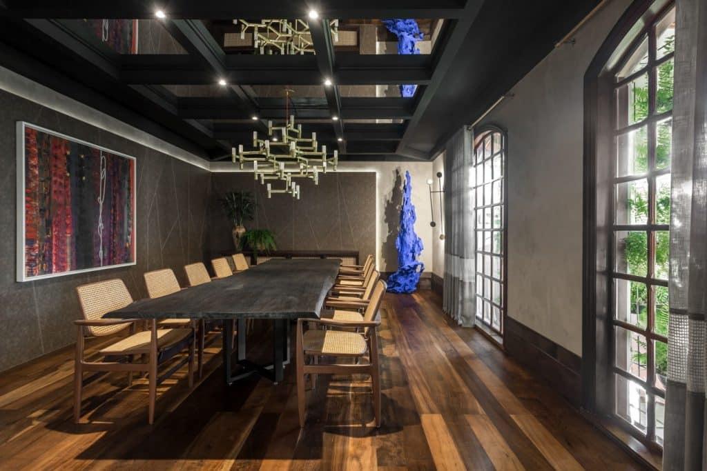 Ambiente sala de jantar FotoEduardo Macarios CasacorPR 1024x683 - CASACOR Paraná completa 25 anos