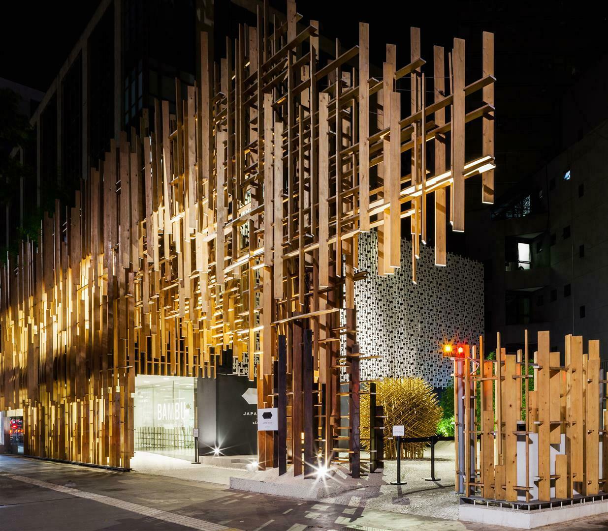 JAPAN HOUSE ARQUITETURA - Japan House recebe prêmio Prix Versailles