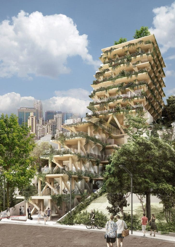 Triptyque Architecture apresenta projeto na 16º Bienal de Arquitetura de Veneza  726x1024 - Primeiro edifício de madeira será apresentado na 16º Bienal de Arquitetura de Veneza