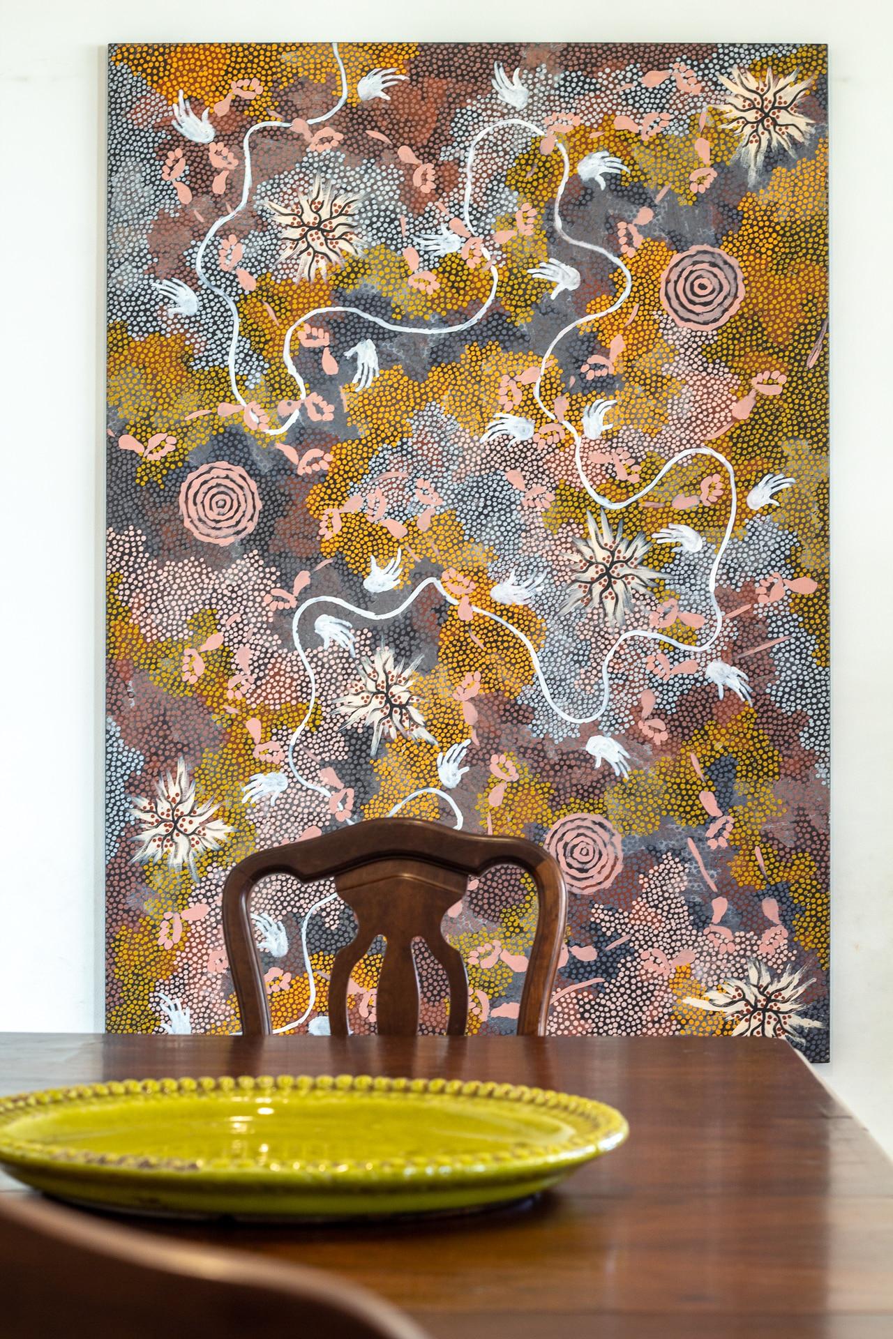 20180609 Arte Aborígene  @joão Pedro 5578 - A arte aborígene na arquitetura de interiores