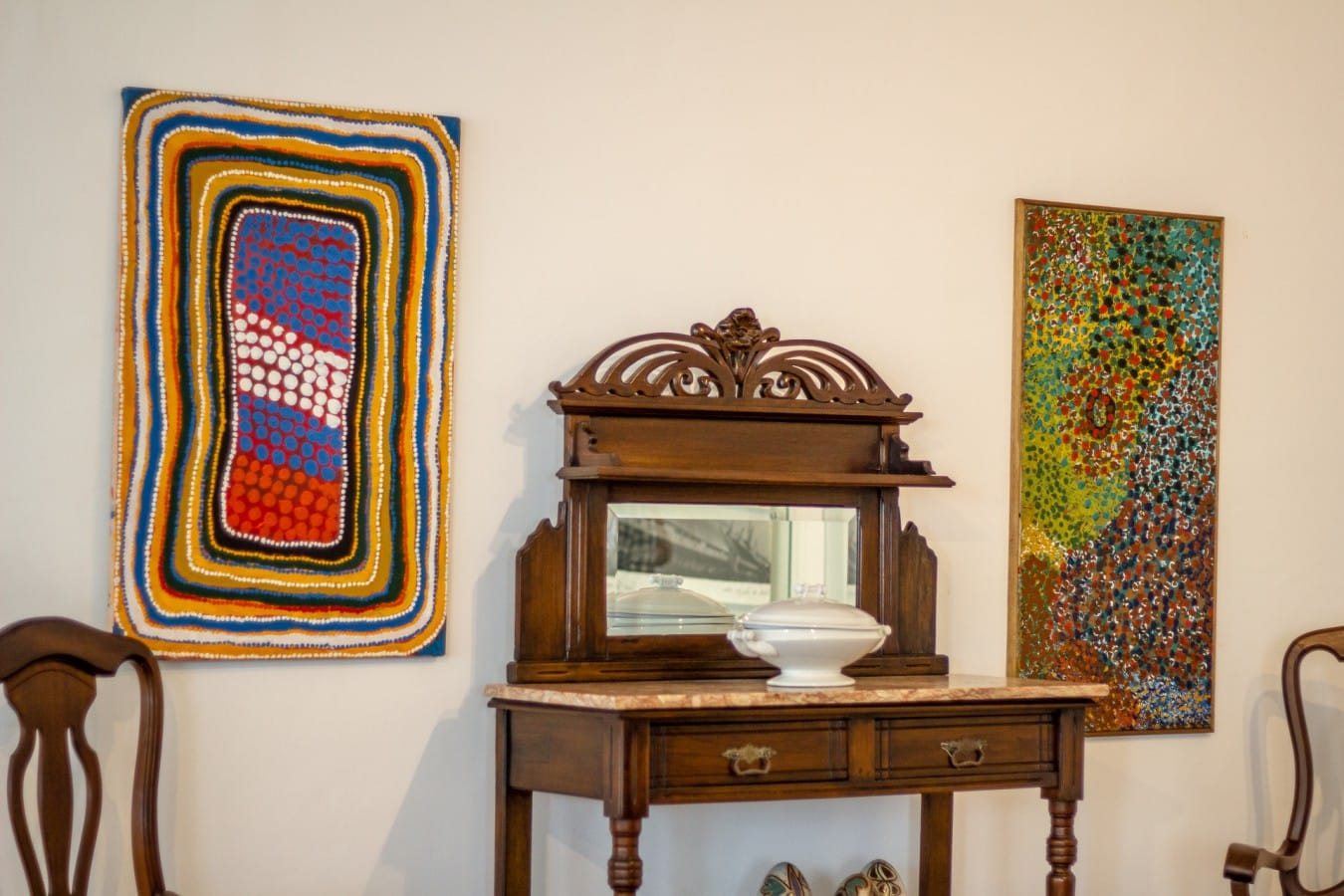 20180609 Arte Aborígene @joão Pedro 5618 - A arte aborígene na arquitetura de interiores