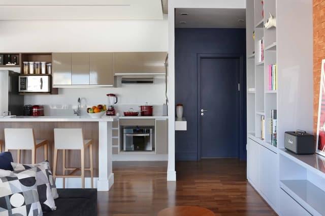 apartamento viviane gobbato8 - Apartamento em SP traz mistura jovem e urbana
