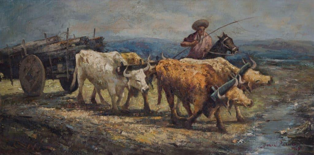 Boiada12 1967 Durval Pereira 1024x506 - Exposição irá exibir um panorama da obra de Durval Pereira