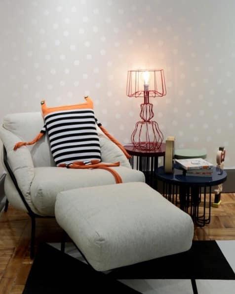 Poltrona quarto do bebê CasaCor Foto Divulgação - Quarto do bebê: conforto e criatividade na decoração