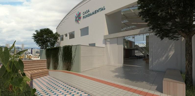 galpão casa fundamental - Escola ocupa galpão industrial em BH