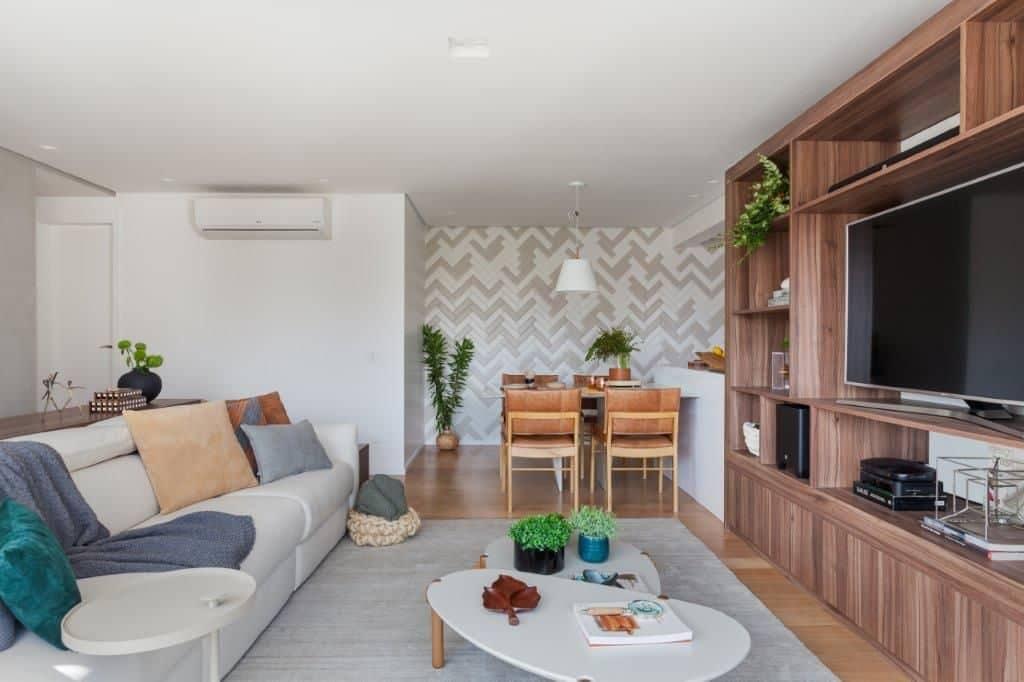 6770932bc220b24604ba71608a72f46b 1024x682 - Praticidade e aconchego em projeto de apartamento em São Paulo