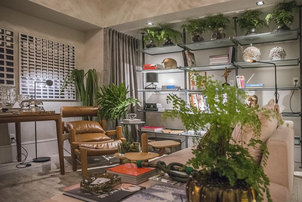 Estar Foyer Acácia 2 Thais Braga Foto Lucas Assis - Mostra Casas Conceito estreia com 35 ambientes