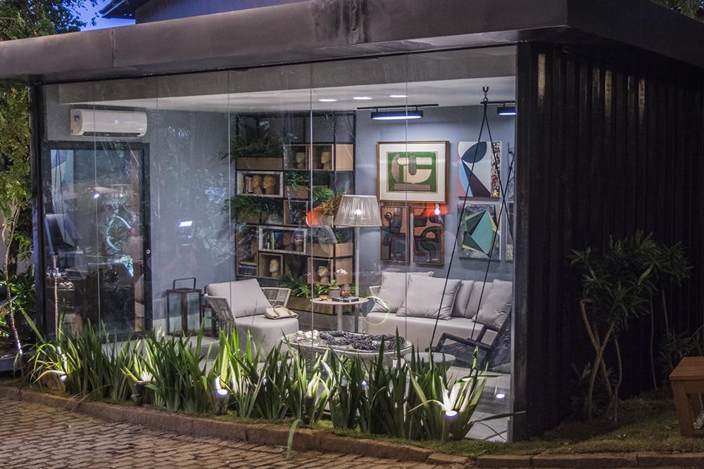 Gazebo da Aroeira 1 Camila Maia Foto Lucas Assis - Mostra Casas Conceito estreia com 35 ambientes