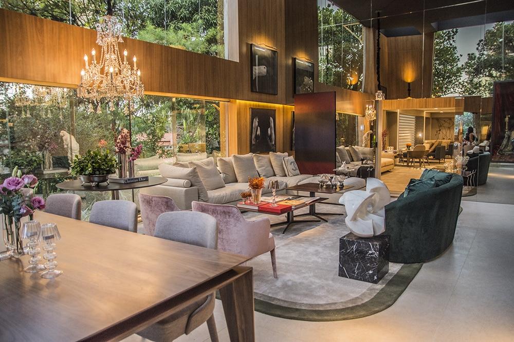 Living Pitangueira 1 Nathalia Velame Lucas Assis - Mostra Casas Conceito estreia com 35 ambientes