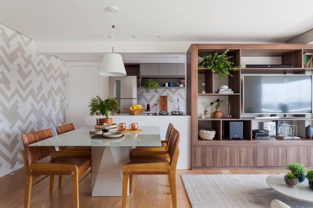dd4e9815d321eb14691395c3430715d5 1024x682 - Praticidade e aconchego em projeto de apartamento em São Paulo