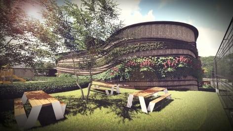 escola arquitetura verde - Arquitetura verde é base de projeto em Brasília