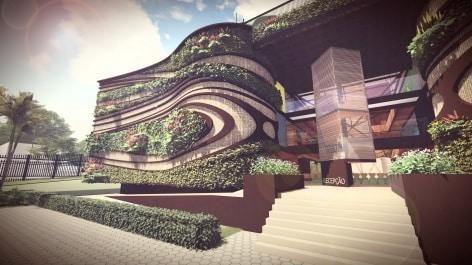 escola arquitetura verde2 - Arquitetura verde é base de projeto em Brasília