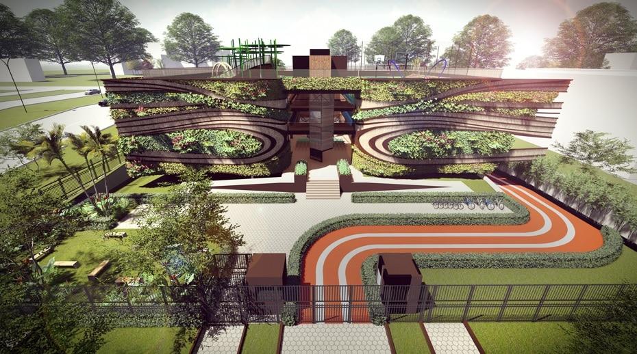 escola arquitetura verde3 - Arquitetura verde é base de projeto em Brasília