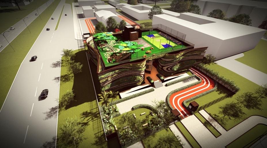 escola arquitetura verde4 - Arquitetura verde é base de projeto em Brasília
