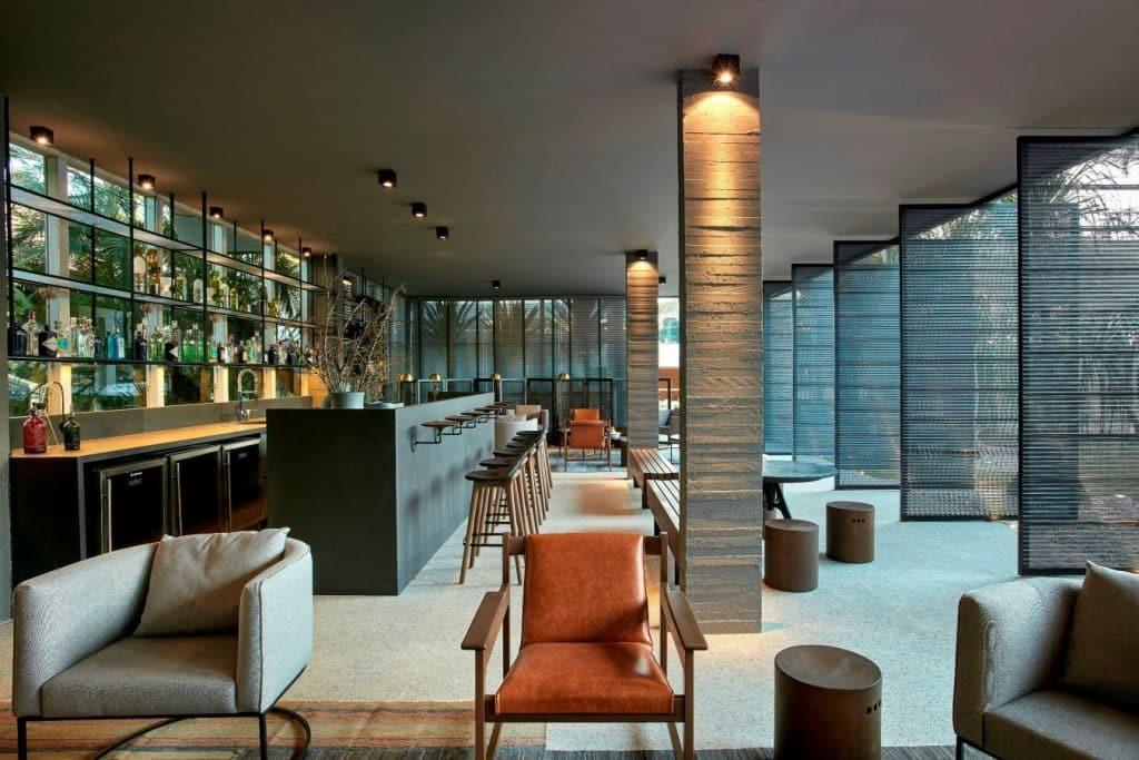 35 LOUNGE BAR FINITURA – Ney Lima crédito Jomar Bragança 1024x683 - 27ª CASACOR Brasília acontece em construção de Oscar Niemeyer