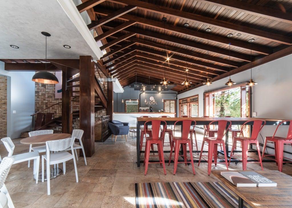 Soul Café e Coworking Pietro Terlizzi 9 - Casa do interior é transformada em coworking