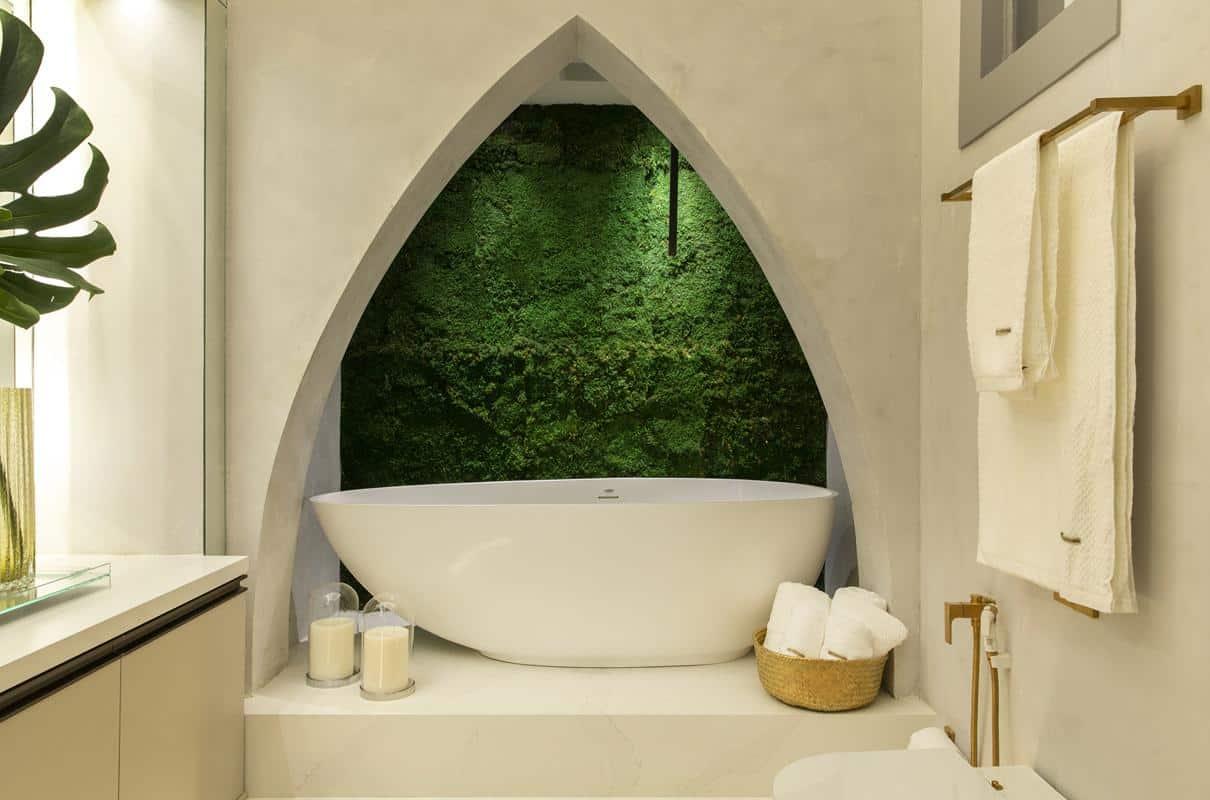 banheiro closet2 - Minimalismo é inspiração na CASACOR PE