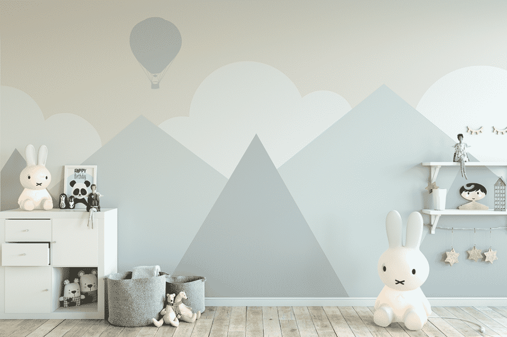 quarto bebe estilo escandinavo shutterstock 575498449 Yuri U 1024x682 - Tendência Escandinava em quartos de bebê