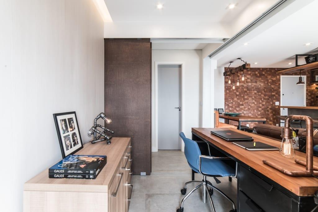 Apto Morumbi Pietro Terlizzi 27 - Apartamento pequeno traz estilo rústico  sem abrir mão do conforto