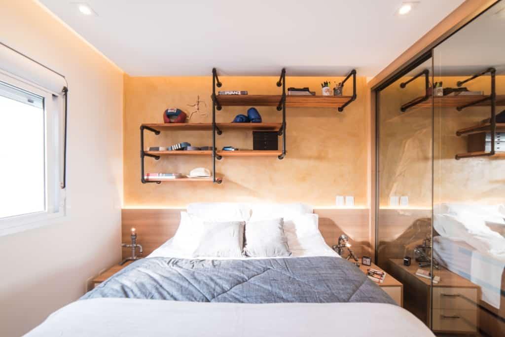 Apto Morumbi Pietro Terlizzi 31 - Apartamento pequeno traz estilo rústico  sem abrir mão do conforto