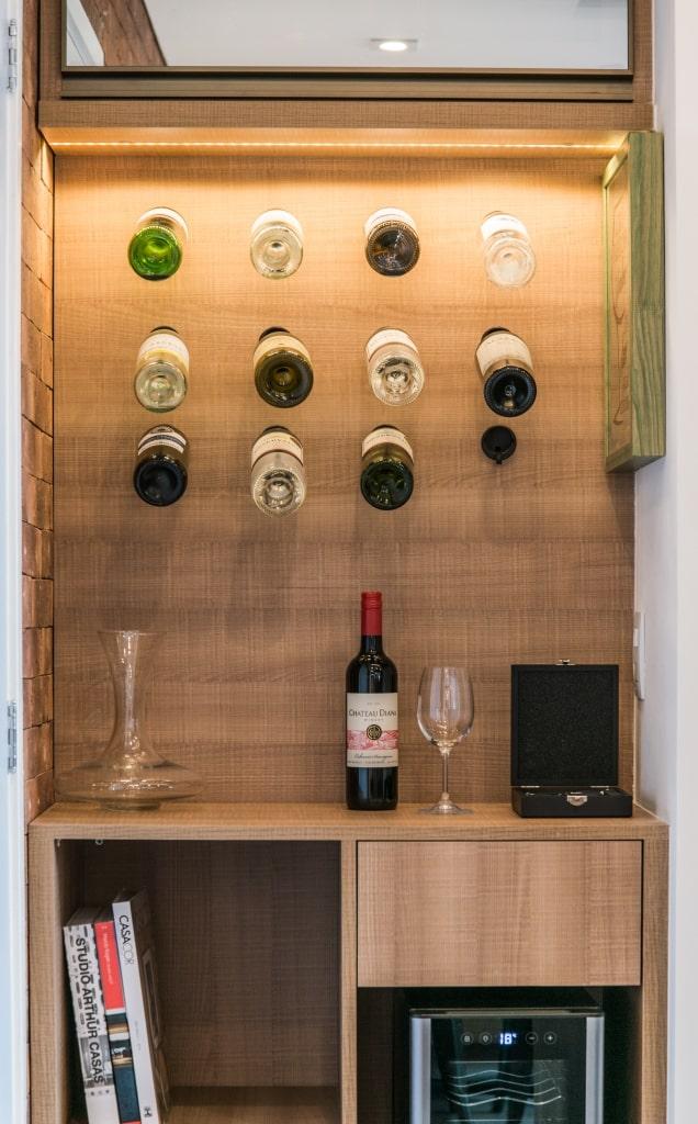 Apto Morumbi Pietro Terlizzi 41 - Apartamento pequeno traz estilo rústico sem abrir mão do conforto