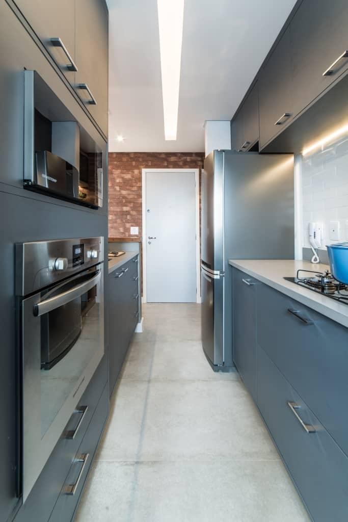Apto Morumbi Pietro Terlizzi 7 - Apartamento pequeno traz estilo rústico sem abrir mão do conforto