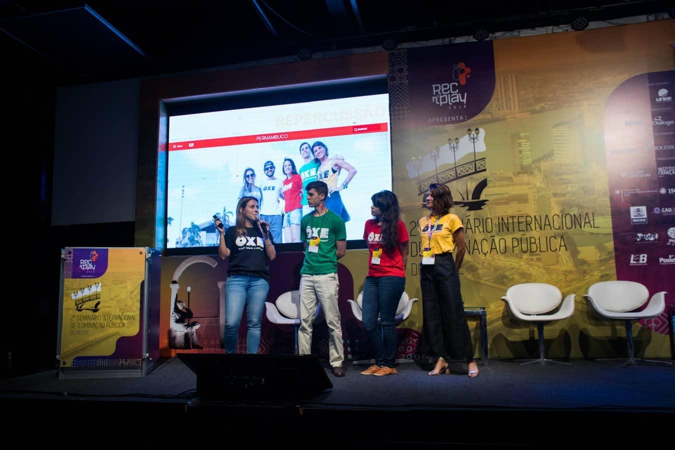 OXE MINHA CIDADE É MASSA - Evento internacional no Recife discute iluminação pública