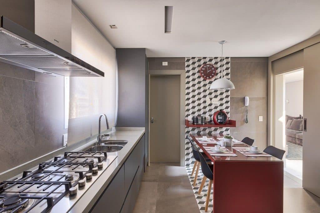 CrisSchiavoni RuaPiracuama RafaelRenzo 3 81 1024x682 - Cores neutras e muita textura em um projeto de cobertura de 267 m²