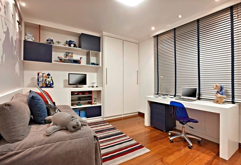 QUARTO1 - Estudando em casa com estilo e organização