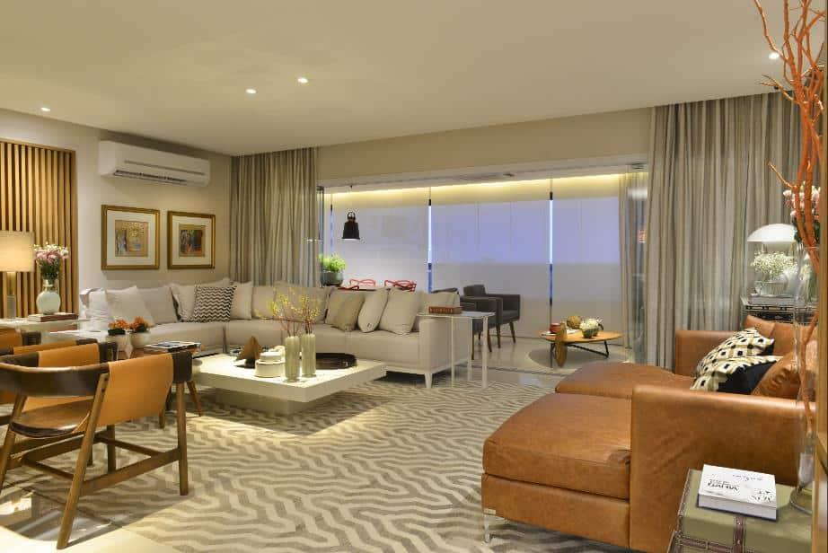 mg1 - Decoração intimista ganha destaque em apartamento de 195m², em Salvador