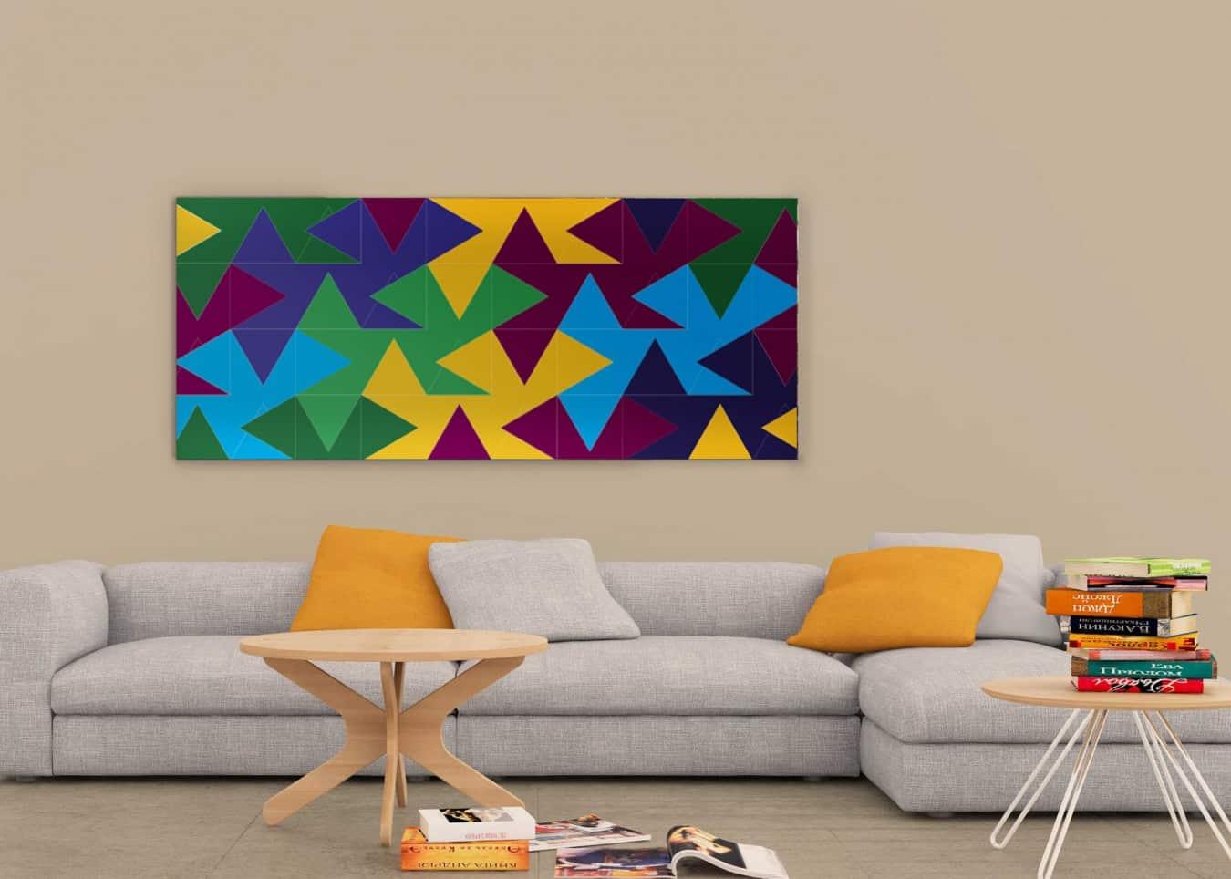 Living Room Frame Mockup - Arte e arquitetura têm encontro marcado na APG